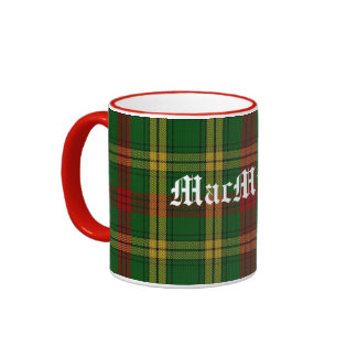Custom Classic MacMillan Tartan Plaid Mug