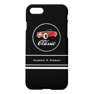 Custom Classic Retro Vintage Convertible Car iPhone 7 Case