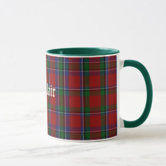 Custom Classic Sinclair Tartan Plaid Mug