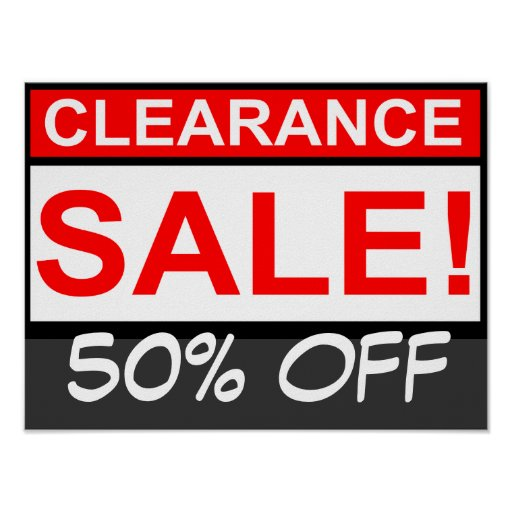 Custom clearance sale Poster