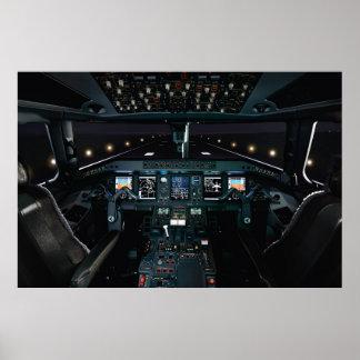 Custom Cockpit Poster