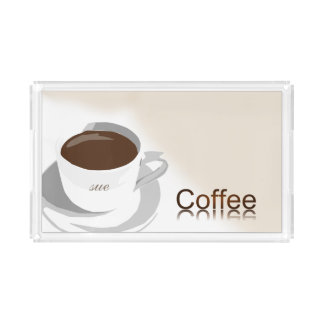 Custom Coffee Acrylic Tray