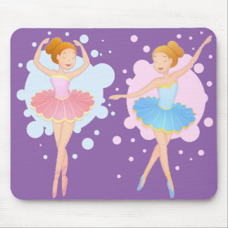 custom color ballet dancers mouse pad