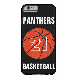 Custom Color Basketball iPhone Case Cover Barely There iPhone 6 Case