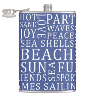 Custom Color Beach House flask