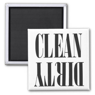 Custom Color Clean/Dirty | Dishwasher Magnet