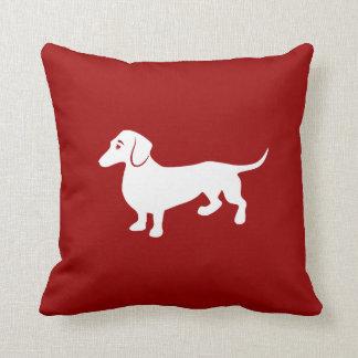 Custom Color Dachshund Cushion