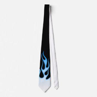 Custom Color Hot Rod Flames Tie