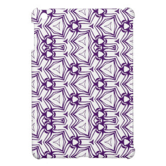 Custom Color Purple Kaleidoscopic Digital Art iPad Mini Cover