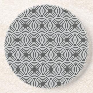 Custom Color Retro Circles coaster