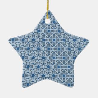 Custom Color Retro Circles ornament