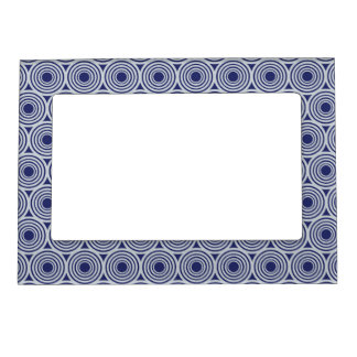 Custom Color Retro Circles picture frame