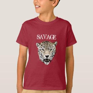 Custom Color Savage Jaguar Wild Animal T Shirt