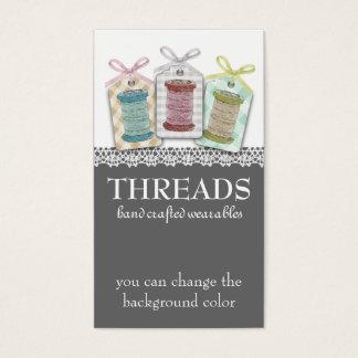 Custom color spools of thread sewing seamstress