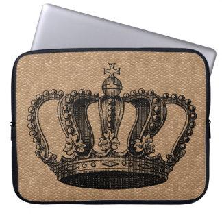 Custom Color Vintage Crown case Laptop Sleeves
