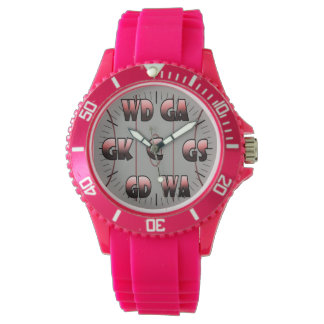 Custom Colour Netball Player Positions Watch