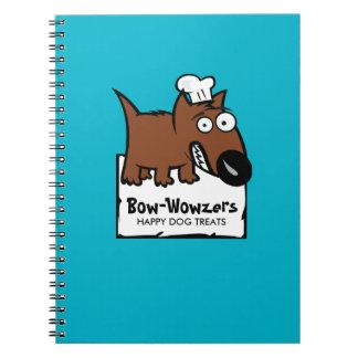 Custom colour pet food chef dog food dog treats notebook