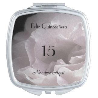Custom Compact Mirror Quinceañera Quinceanera 15