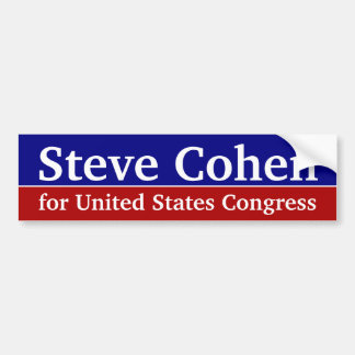 Custom Congressional Bumper Sticker