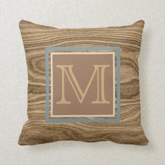 Custom Cool Artistic Abstract Tree Bark Pattern Cushion