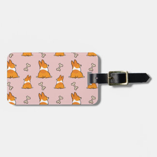 Custom Corgi Butt Luggage Tag