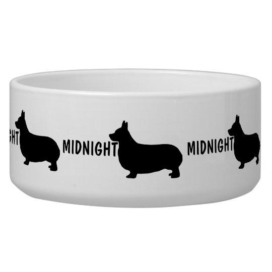Custom Corgi Dog Bowl