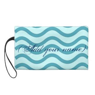 Custom Cosmetic Wristlet Bag