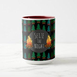 Custom Cosy Fun Overnight Camp Coffee or Tea Mug