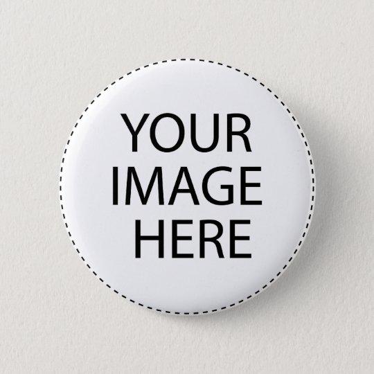 Custom Create Flower Photo Gift 6 Cm Round Badge