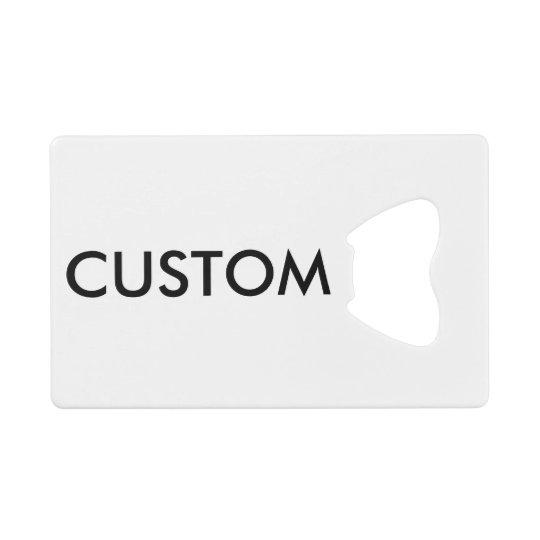 Custom Credit Card Bottle Opener Blank Template