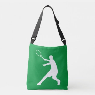 Custom cross body bags for tennis player and coach tote bag