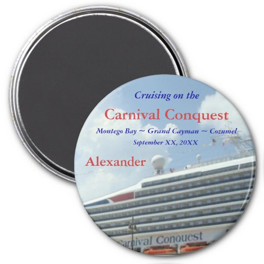 Custom Cruise CCor2 Magnet