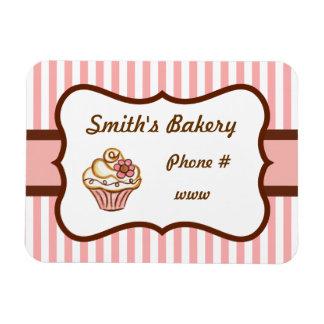 Custom Cupcake Bakery Magnet