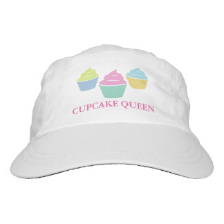 Custom cupcake hats | knit or woven caps for women
