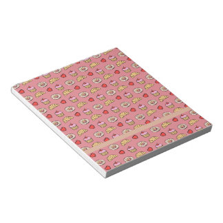 Custom Cupcake Pattern Notepads