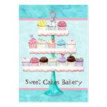 Custom Cupcake Sweet Shoppe Business Cards