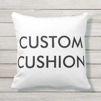 """Custom Customizable 16"""" Outdoor Throw Pillow"""
