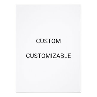 CUSTOM CUSTOMIZABLE CUSTOMIZE BLANK TEMPLATE CARD