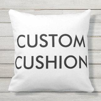 """Custom Customizable Large 20"""" Outdoor Throw Pillow"""