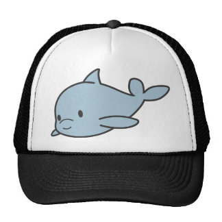 Custom Cute Baby Dolphin Cartoon Cap