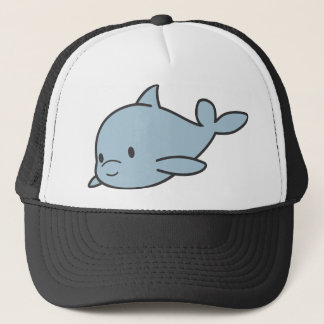 Custom Cute Baby Dolphin Cartoon Trucker Hat