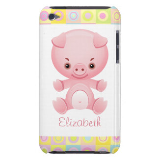 Custom Cute Kawaii Pink Pig iPod Touch Cover