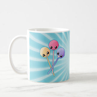 Custom Cute Lollipops Basic White Mug
