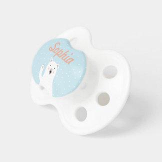 Custom Cute Polar Bear in the Snow Dummy