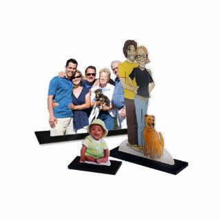 Custom Cutout Photo Standing Photo Sculpture