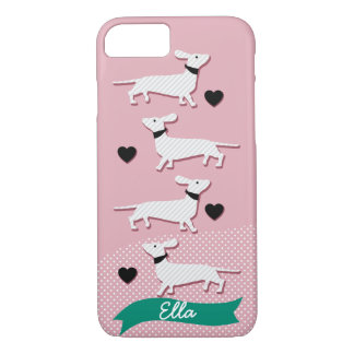Custom Dachshund iPhone case