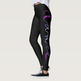 Custom Dance Script - Galaxy 2 Leggings