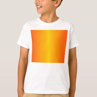 Custom Dark Orange Yellow T-Shirt