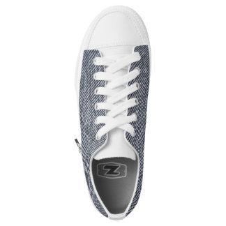 Custom denim look converse Designer Sneakers