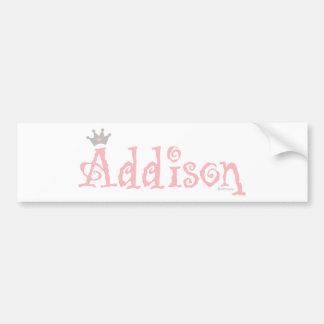 Custom Design - Addison Bumper Stickers